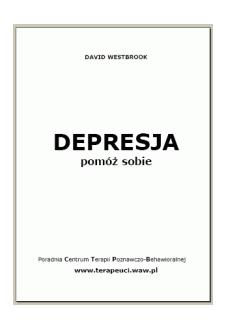 Depresja. Pomóż sobie