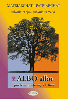 ALBO albo Matriarchat - Patriarchat 1/2003