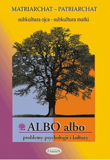 ALBO albo Matriarchat-Patriarchat 1/2003 (PDF)