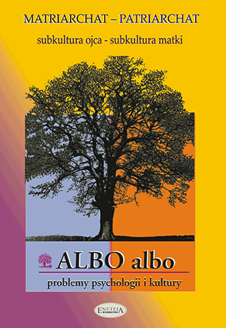 ALBO albo Matriarchat-Patriarchat 1/2003 (ebook)