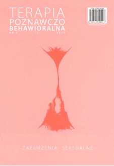 Zaburzenia seksualne. Terapia Poznawczo-Behawioralna 4/2014