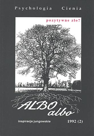 ALBO albo Psychologia Cienia 2/1992 (3)