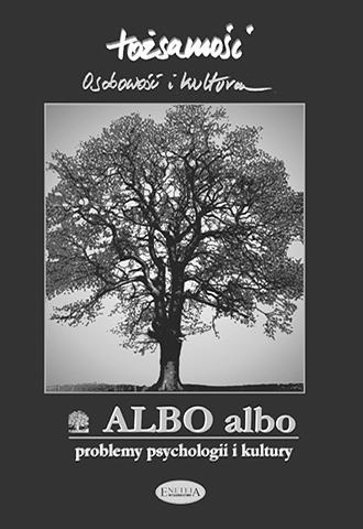 ALBO albo Tożsamość (17) 2/2000