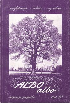 ALBO albo Muzykoterapia 1/1992 (2)
